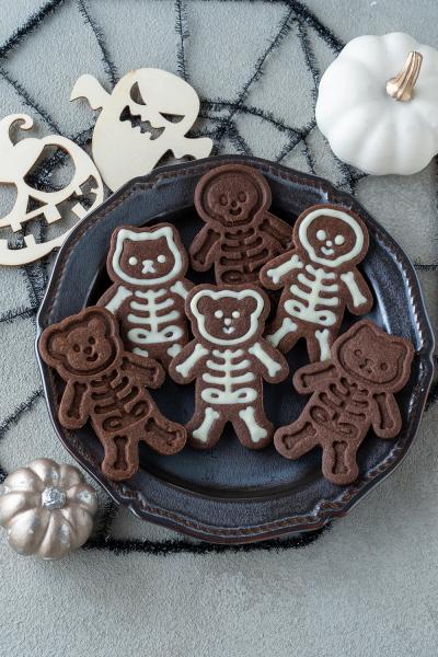 ハロウィンのほねほねクッキー