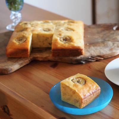 【バナナケーキ】植物油で簡単バナナケーキ