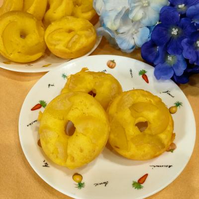 ホットケーキミックスで レモン 焼きドーナツ