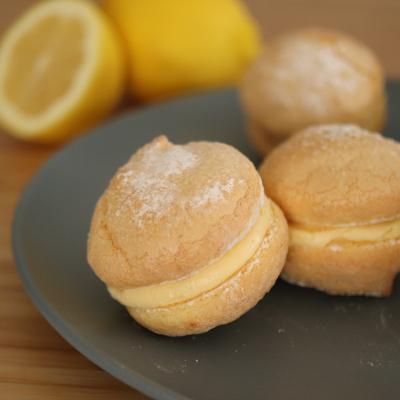 レモンクリームブッセ