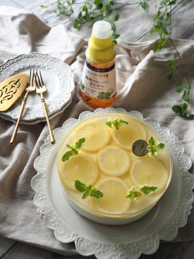 はちみつレモンレアチーズケーキ