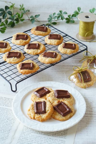 焼くまで10分!ホットケーキミックスで簡単チョコバナナソフトクッキー