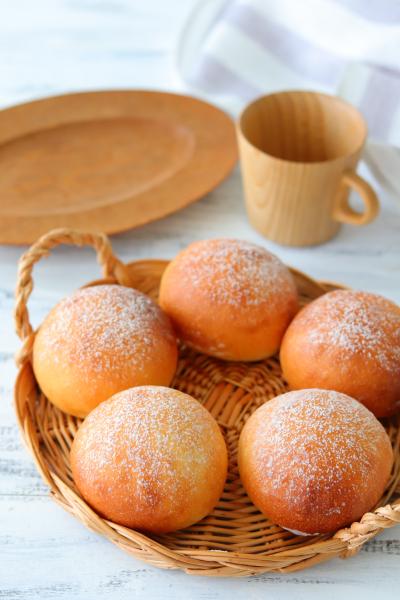 生食パンミックスで作る丸パン