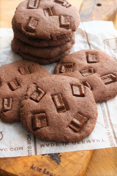 簡単・サクサク食感のチョコレートクッキー