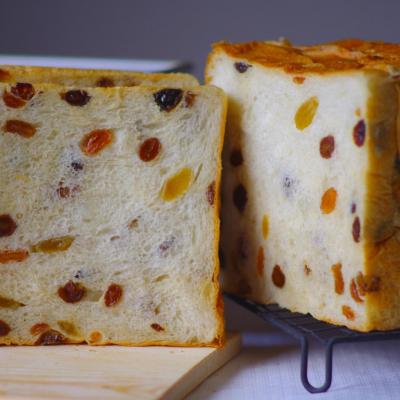しっとりレーズン食パン(中種法)