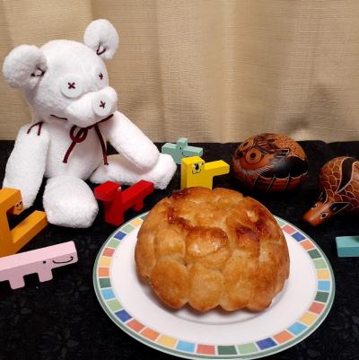 【カンタン時短、親子パン】親子で作るかんたんモンキーブレッド