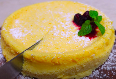 材料3つ!!めっちゃ簡単チーズケーキ