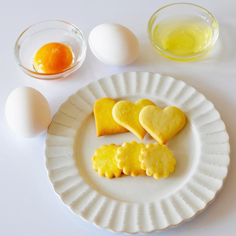 全卵?卵黄?卵白?クッキー生地に使う卵はどれを選ぶ? | cotta column