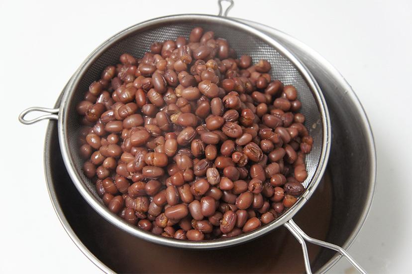 へそ外し 小豆