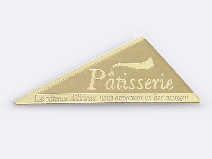 ケーキピック 三角-4(金)