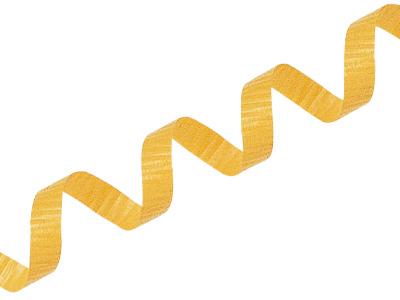 カーリングリボン 02 黄