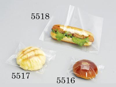 菓子・パン用OP袋ベロ付 140×130+30