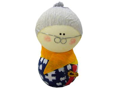 おばあさん 起き上がり人形