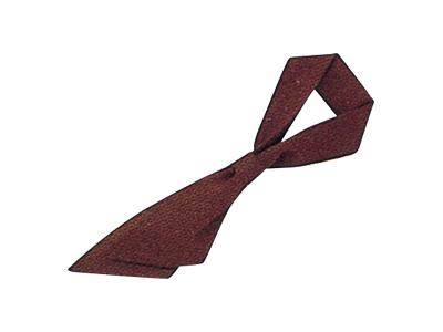 ループ付スカーフ チョコレート