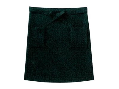 サロンエプロン 黒
