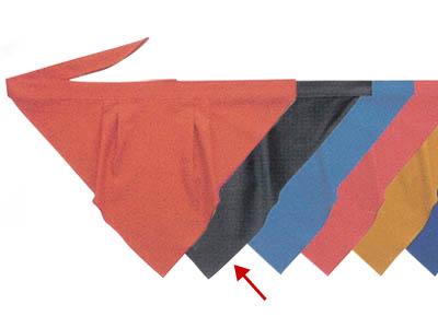 三角巾A チャコールグレー