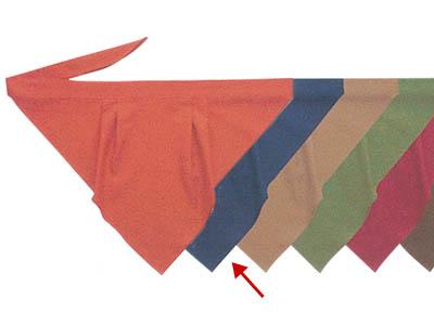 三角巾A 鉄紺