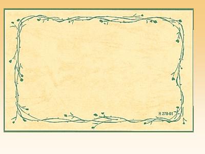 ナチュラルカード2 H278-01S (30枚入)