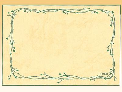 ナチュラルカード2 H279-01M (30枚入)
