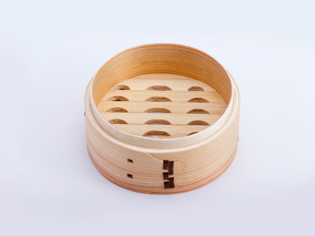 中華 セイロ 本体(径13×H6cm)