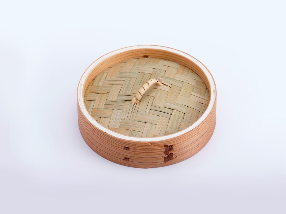 中華 セイロ 蓋(径13×H3.5cm)