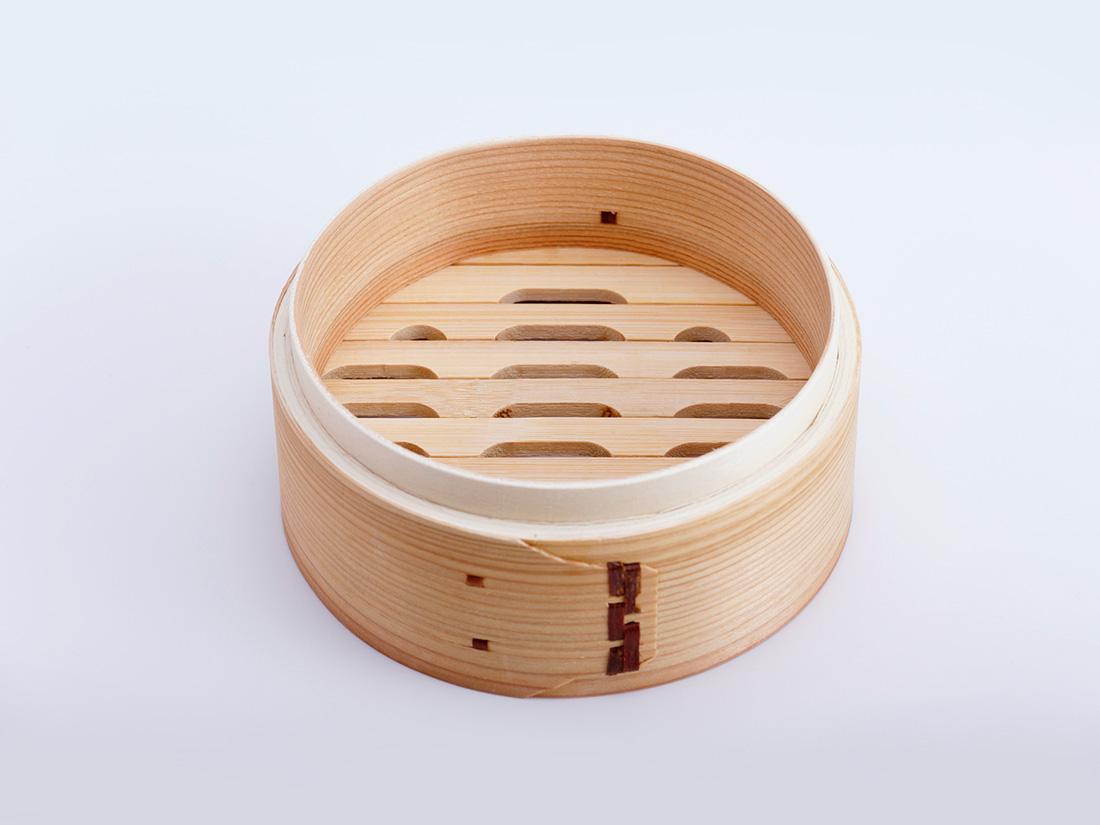 中華 セイロ 本体(径15×H6.5cm)