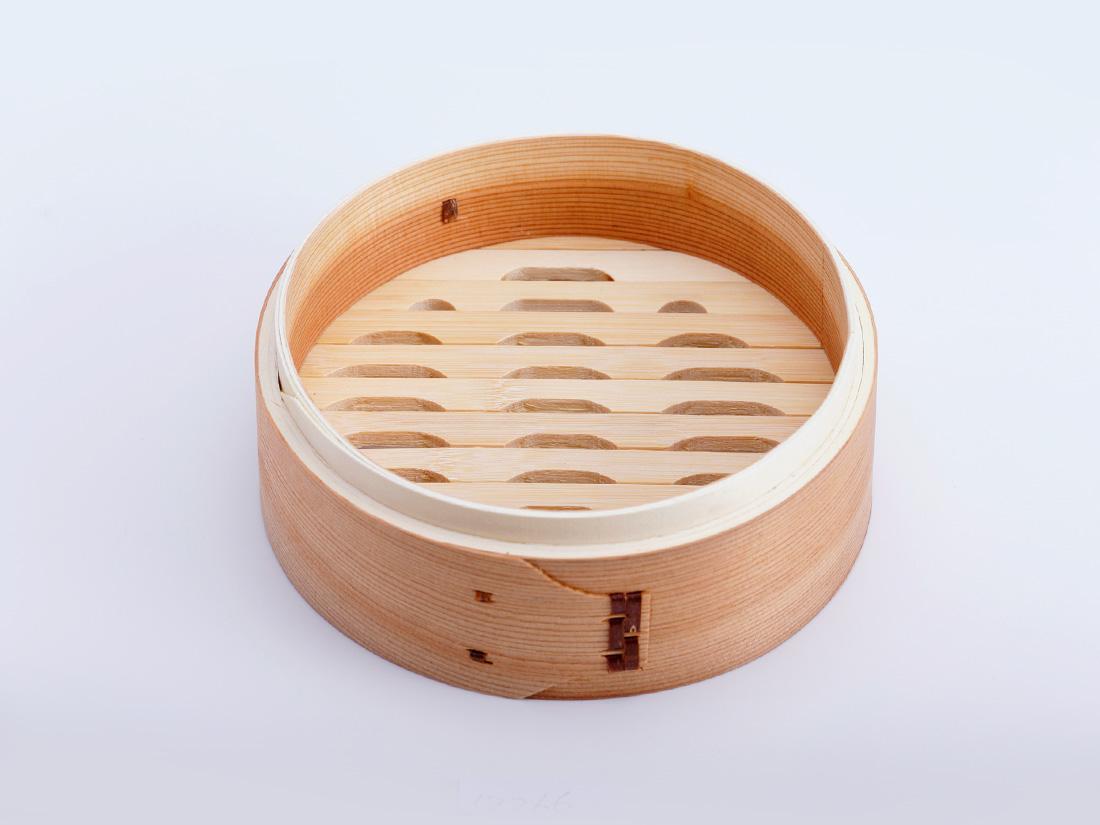 中華 セイロ 本体(径18×H6.5cm)