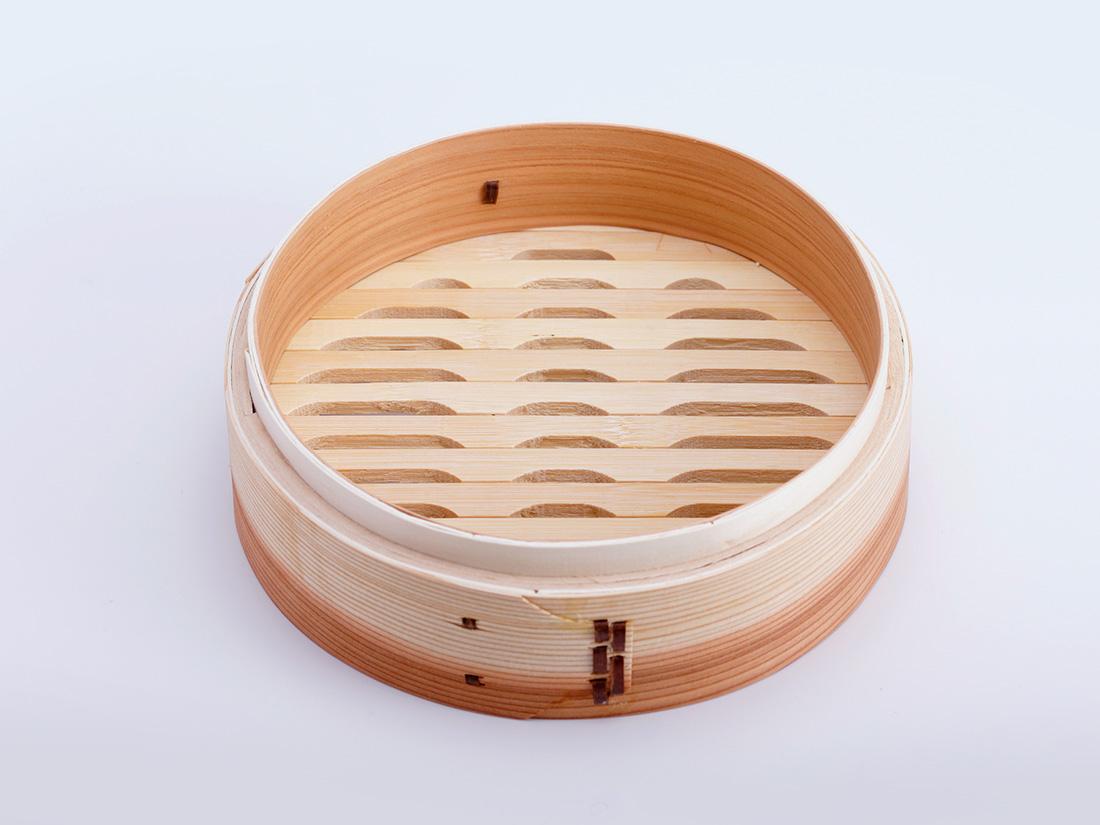 中華 セイロ 本体(径21×H6.5cm)