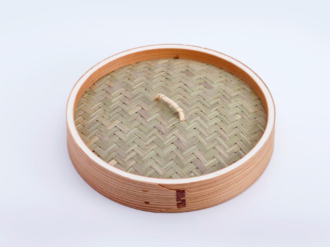 中華 セイロ 蓋(径21×H4cm)