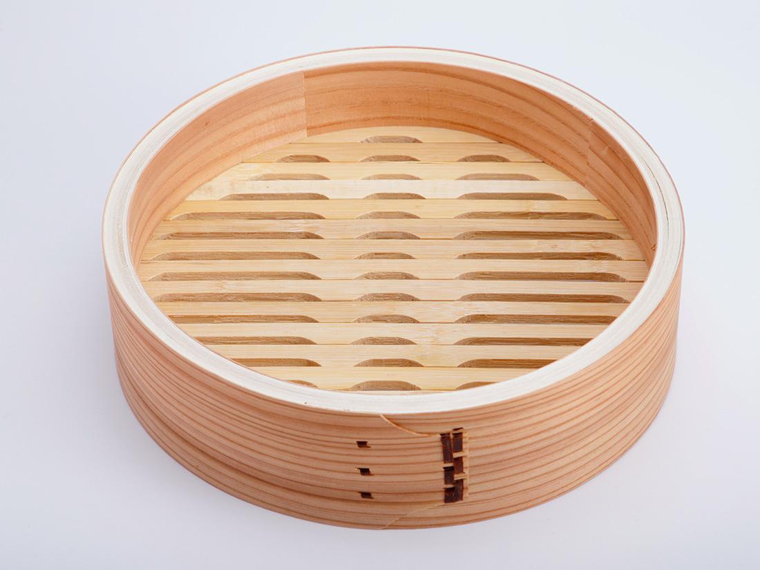 中華 セイロ 本体(径27×H7.5cm)