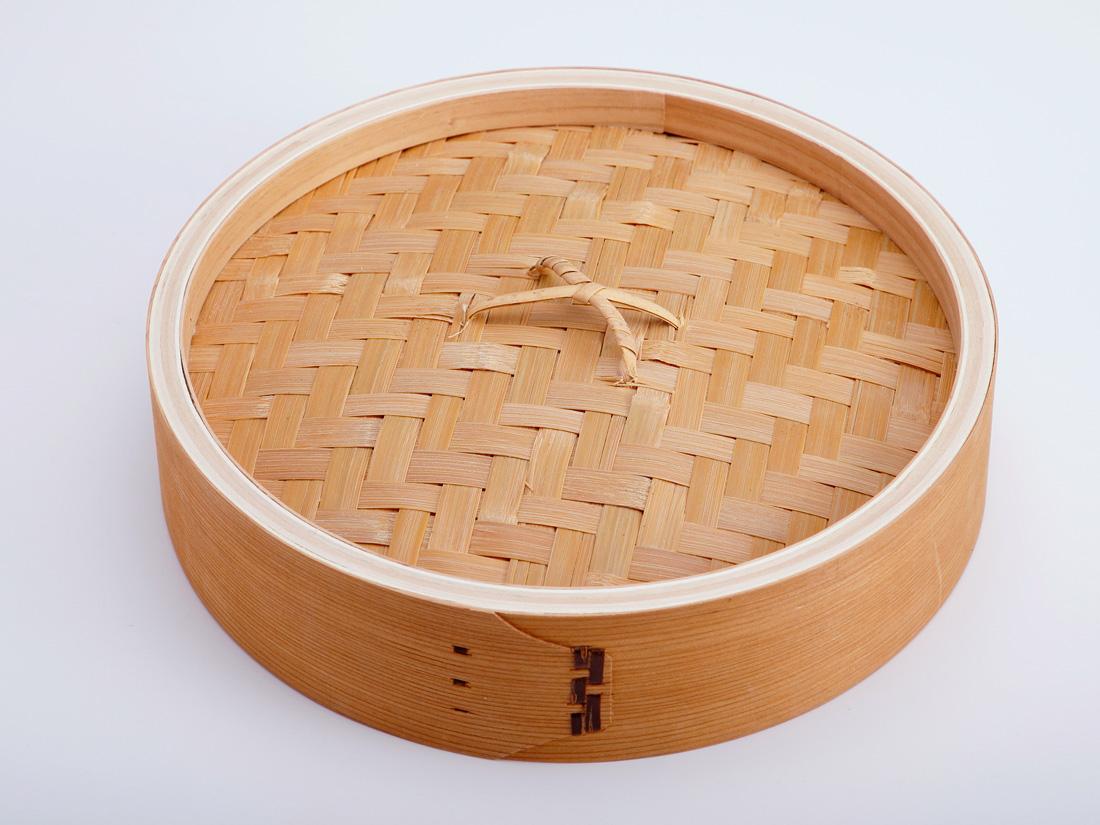 中華 セイロ 蓋(径27×H6.5cm)
