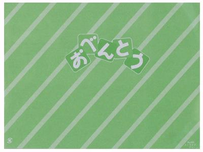 折掛紙NO.591(ストライプグリーン)