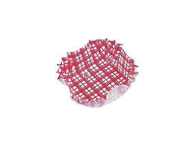 フードケース格子 正角 赤(500枚入)