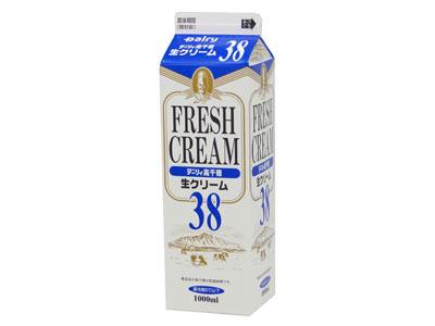 冷蔵 南日本酪農 高千穂生クリーム 38(1L)