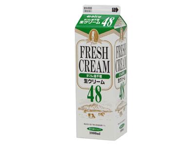 冷蔵 南日本酪農 高千穂生クリーム 48(1L)