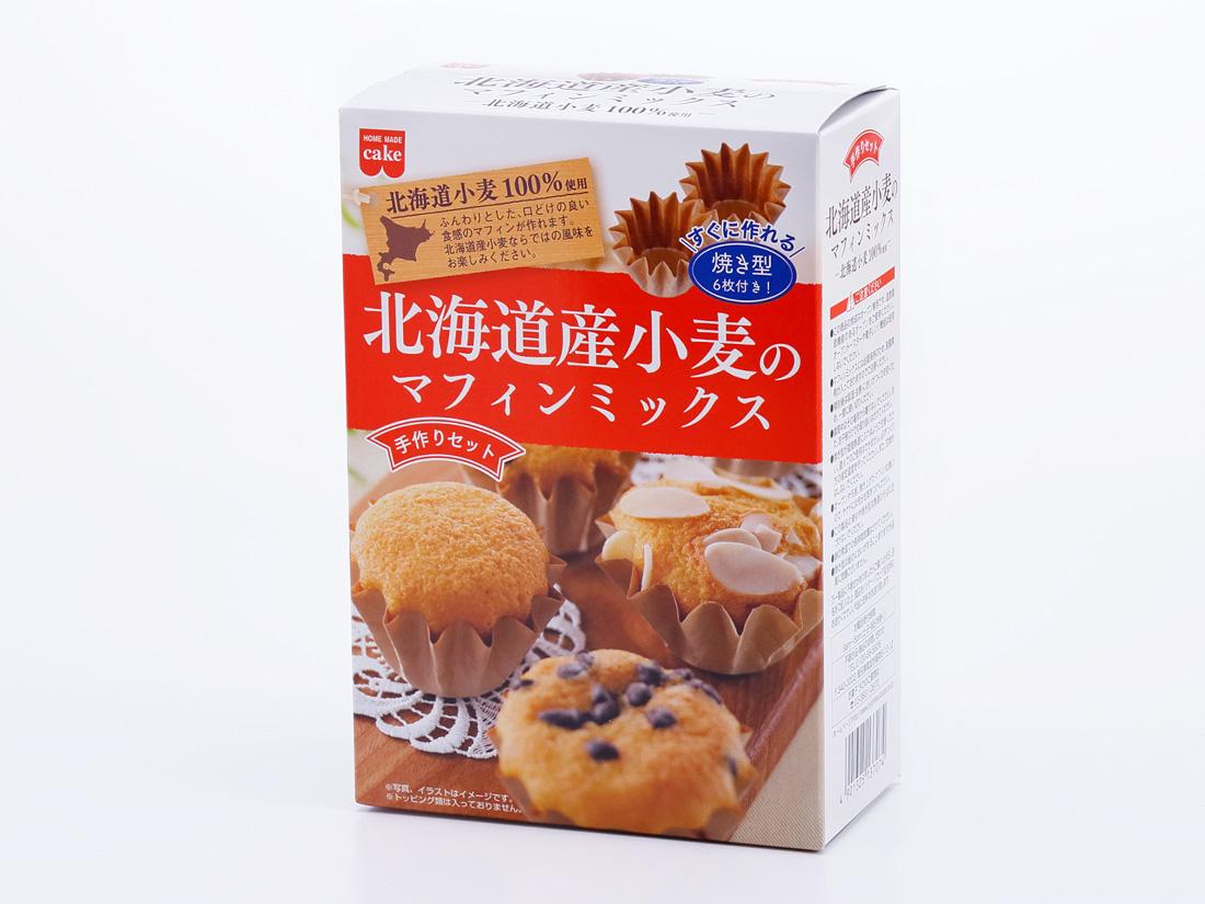 KS 手づくりセット 北海道産小麦のマフィンミックス