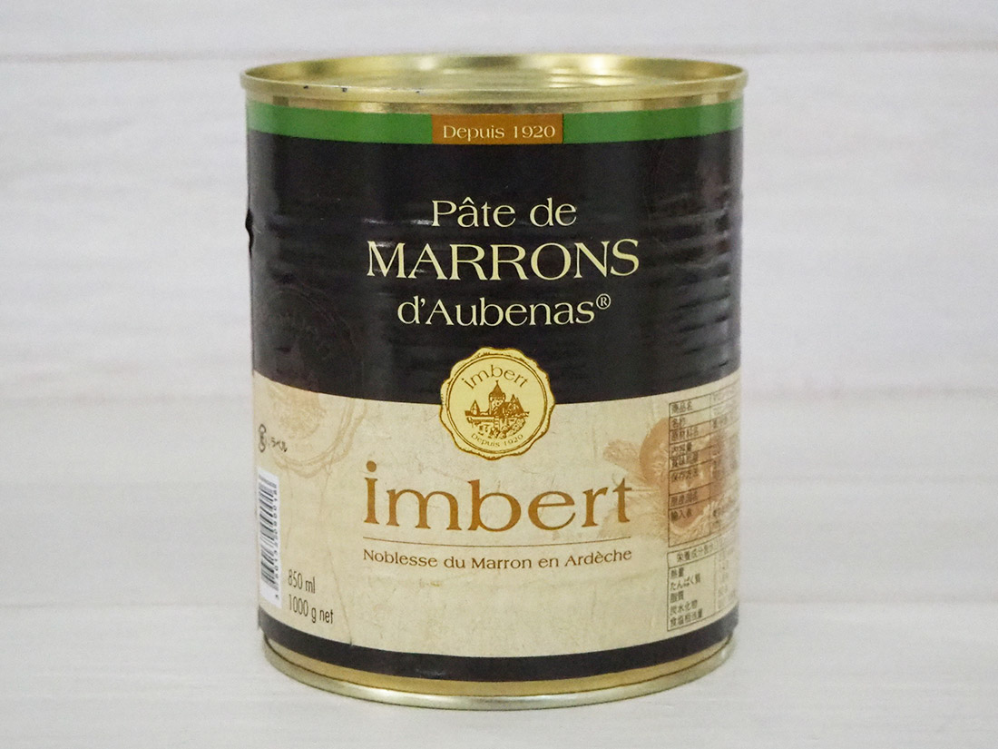マロンペースト1kg(アンベール)