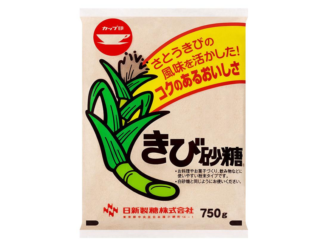 カップ印 きび砂糖 750g