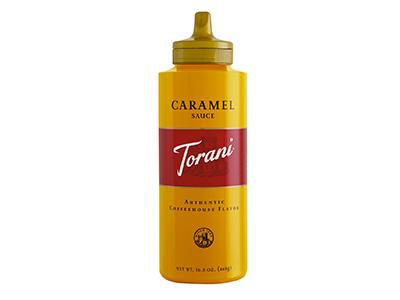 冷蔵便 トラーニ キャラメルソース 468g