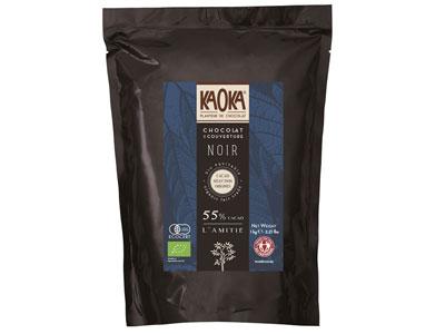 カオカ オーガニックチョコレート ラミティエ 55% 1kg