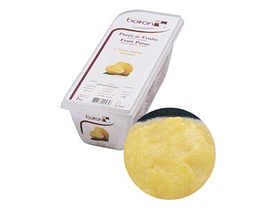 冷凍 ボワロン ピューレ シトロンジョンヌ(レモン) 1kg