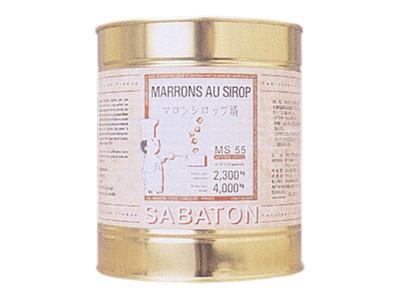 サバトン マロンシロップ 4kg
