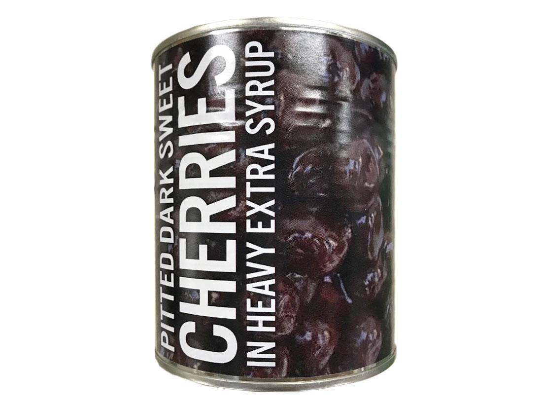 チェリー 缶詰 ダーク