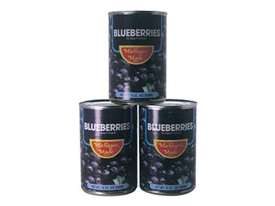 ミシガンメイド ブルーベリー 4号缶