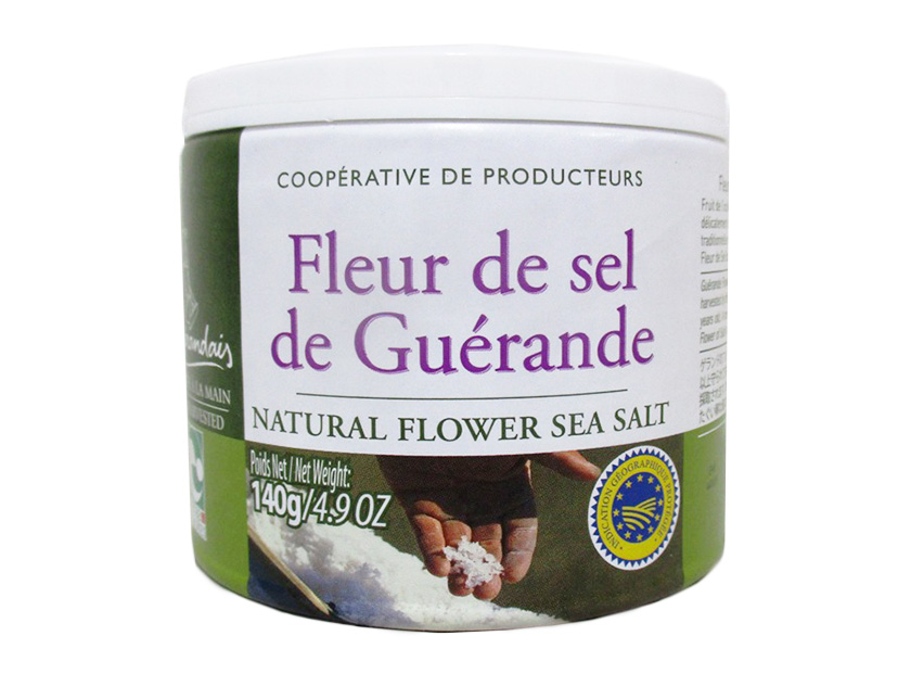 フルードゥ初摘塩グレー 125g