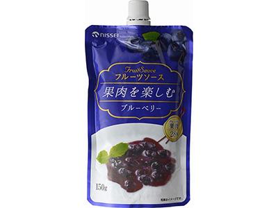 日世 フルーツソース 果肉を楽しむ ブルーベリー 150g