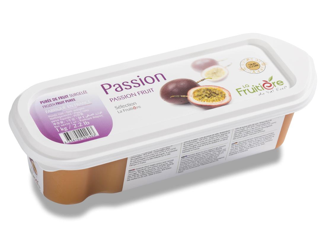 冷凍 ラ・フルティエール パッションフルーツピューレ 1kg