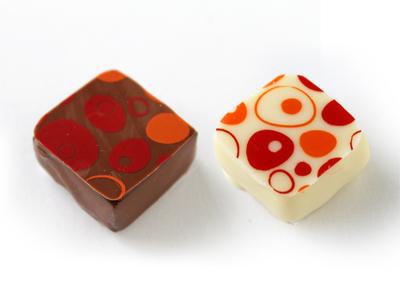 冷蔵便 チョコレート転写シート ヴァーチュアス (1枚入)