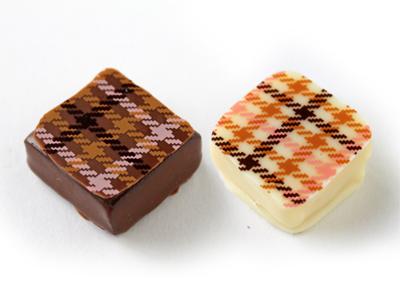 冷蔵便 チョコレート転写シート マドモワゼル (1枚入)
