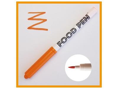 フードペン オレンジ